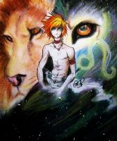 Leo the Lion by AndyStarfish