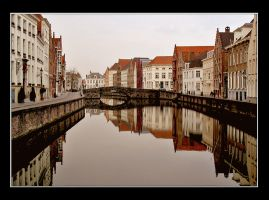 Brugge Canal by fotofrost