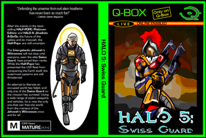 HALO 5: Swiss Guard by starchild6891