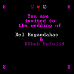 Dwarf Fortress Wedding Invitation by terff