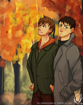 Fall SouMako by tuolumnie