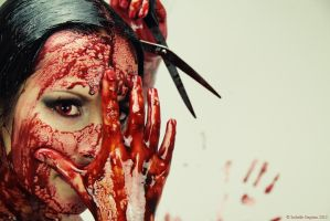 Horror queen blood by TheLittlePitbull