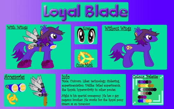 COMMISSION Loyal Blade by chibihitomi