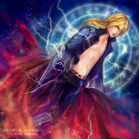 Edward Elric by AkubakaArts