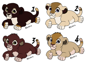 Cubs from B and 3 - CLOSED - by Soufroma