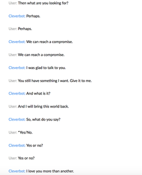 Cleverbot 5 by MistwolfUmbreon