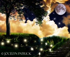 Fairy Moon by JocelynPatrick