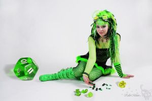 Dice Cyber Goth by KuLLerMieTze