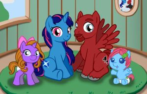 Ponified Family by RunicRhyme