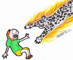 It's a goddamn Fire Leopard! by SkywalkerGirl666