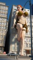 Cassie Croft by Tiny-Mk by Giantess-Cassie