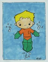 Little Aquaman by eileenshige