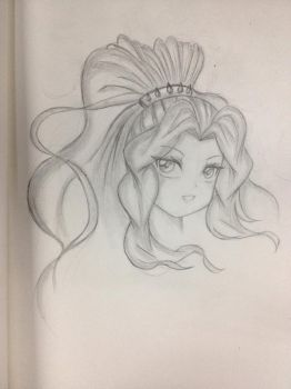 Adagio on Pencil by trainbang