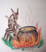 Rabbit stew by EnigmaticPhantasy