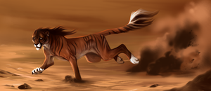 Dust Devil by Foxgrove-Stables