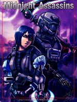 Midnight Assassins: Ilea n Slayer by WinterSpectrum