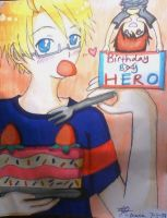Hetalia-Happy Birthday America (late) pic 1/2 by DaisyLovin