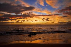 Hawaiian Sunset, Night xi by A18Braun