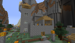 Mi casa in Minecraft by soyersoldier