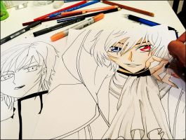 Lelouch - WIP by MystiqueCabare