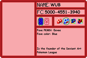 DA-PL Trainer Card: Wub by Wub-Me