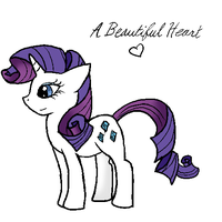 Rarity doodle by Comickit