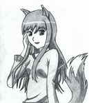 Wolf and Spice: Holo by ScottishReaver