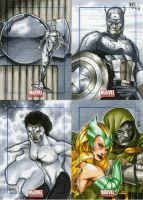 Marvel Universe Sktch Cards 13 by RichardCox