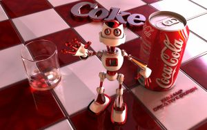 Coca Cola robopal1 by RJamp