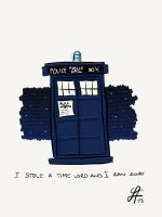 I Stole a Time Lord and I Ran Away by gnasler