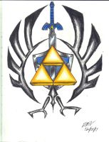 Triforce Design by AniCyborg