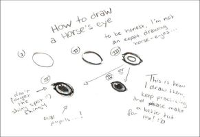 ..draw a horse's eye. by Kuwanyamtiwa