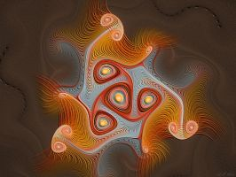 A Fractal Fossil by HBKerr