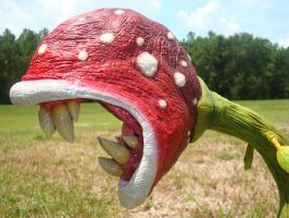 Piranha Plant Revisited Head by Kalapusa