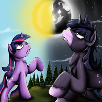 Fanart - MLP. Twilight Unbound Cover Art by jamescorck