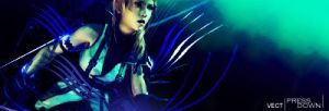 Lightning signature 001 by Vaan009