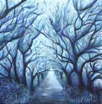 Blue forest by osnatrot