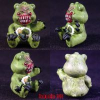 Killer Care Bear SwampCreature by Undead-Art
