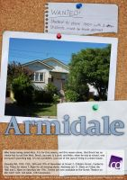 Armidale A3 Poster by jellybeansoup