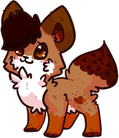 Cupcake-Pastry-Fox :Request: by AppleDew