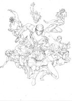 Sharp and RIFT Pourfenders pencils by SpiderGuile