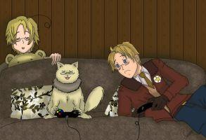 APH - that's cheating! by Silbido
