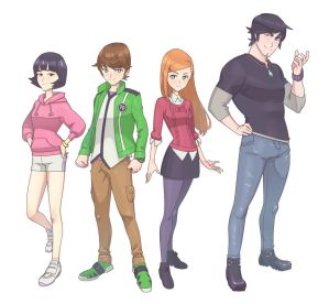 Ben 10 character redesign by Lysergic44