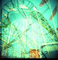 rollercoasters by psychotic-cheshire