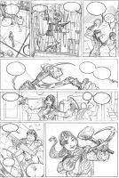 RED ONE # 2 Page 1 Pencils by TerryDodson