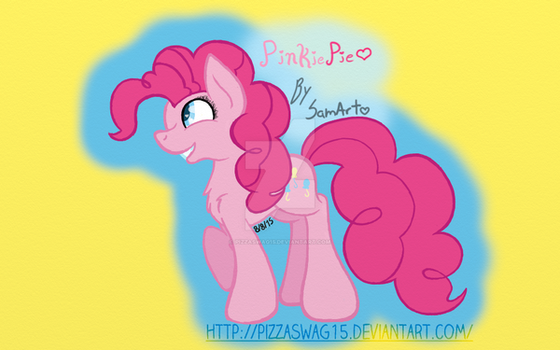 Pinkie Pie (GraphicTablet) (Third Draw with GT) by PizzaSwag15