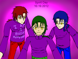20XX: Gorgon Bros Celebrate Spirit Week by KoriStoryteller