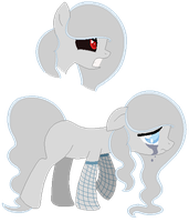 Ghast Pony Auction -CLOSED- by Dos-Lil-Adoptables