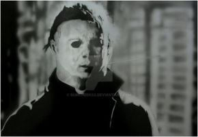 MICHAEL MYERS IN JOHN CARPENTER'S HALLOWEEN by BUMCHEEKS2