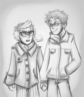 Winter Boyfriends by robotwwizard
